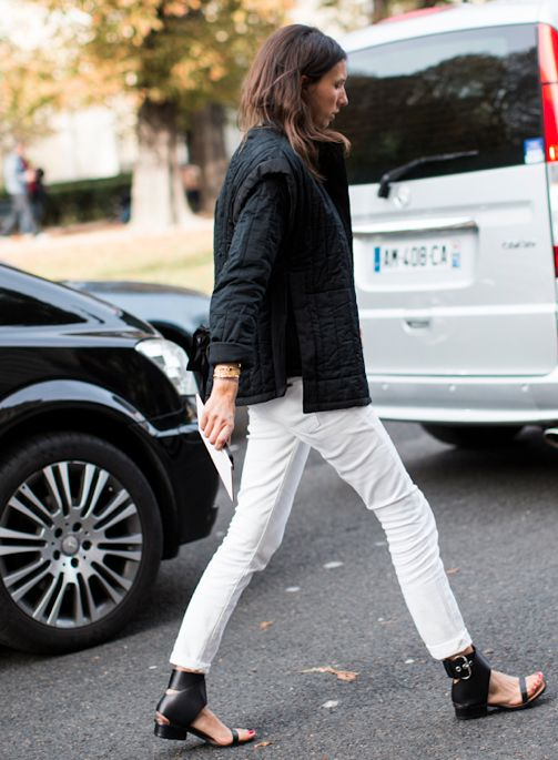 french-style-white -jeans-quilted-coat-via-lacooletchic.tumblr.com-