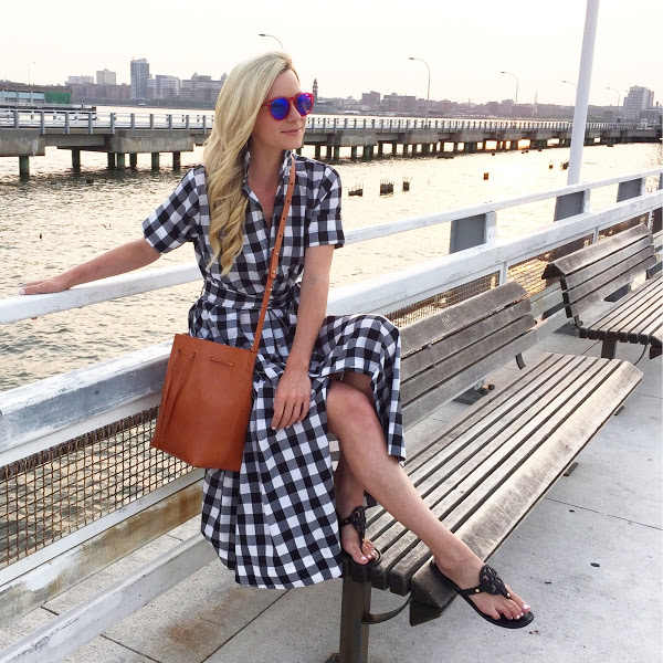 gingham-shirt-dress-beach-outfit-work-summer-work-outfit-via-atlantic-pacific