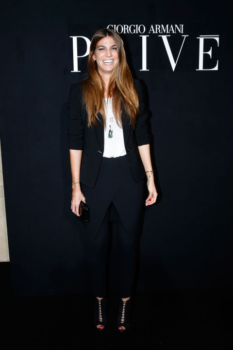 bianca-brandolini-dadda-black-pants-suit-summer-work-outfit-paris-couture-fashion-week-white-tee
