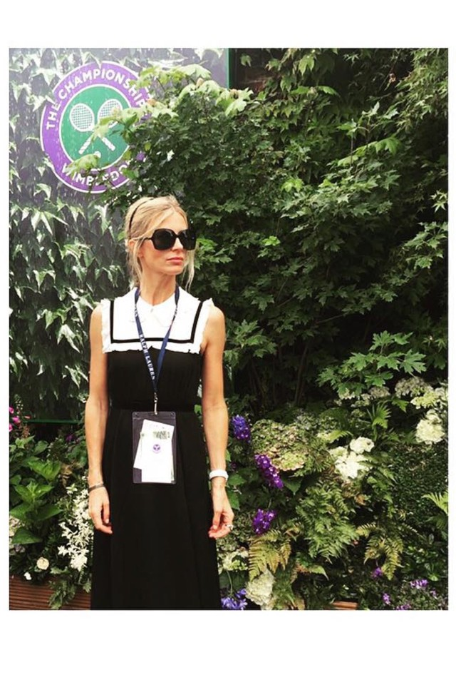 lauren-bailey-black-and-white-summer-dress-bib-dress-summer-outfit-wimbledon-fashion-via-instagram