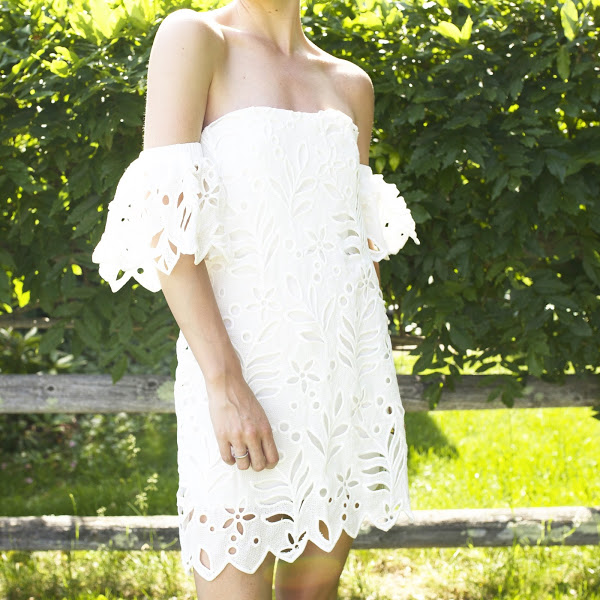 off-the-shoulder-eyelet-lwed-summer-white-dress-via-atalantic-pacific