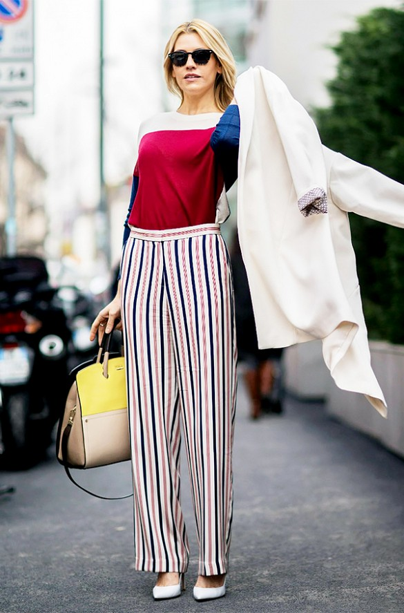 striped-pants-mondrian-colorblcock-prints-primary-colors-white-pumps-spring-summer-outfits-work-outfits-via-the styleograph