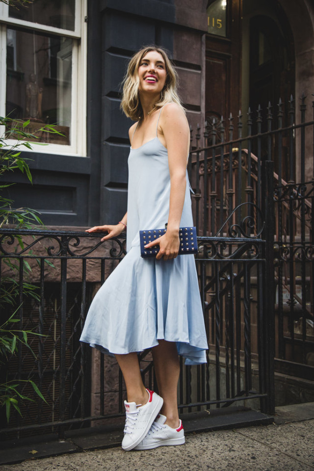 summer-outfit-dresses-and-sneakers-tibi-adidas-via-popsugar