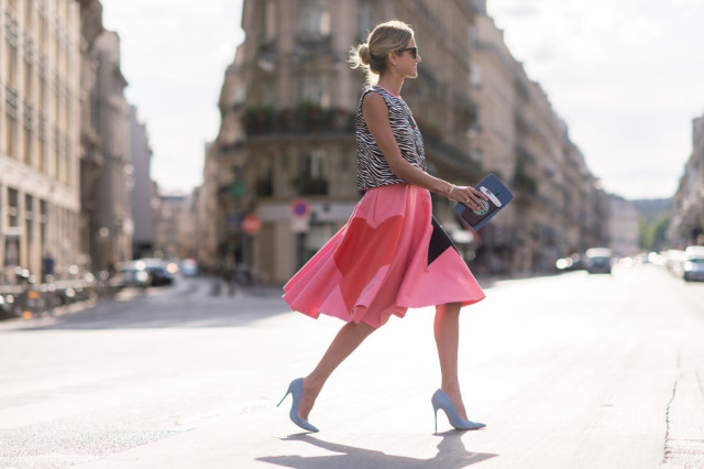 summer-outfit-zebra-print-heart-red-pink-skirt-vday-pumps-dress-remix-paris-couture-fashion-week-viaelle.com