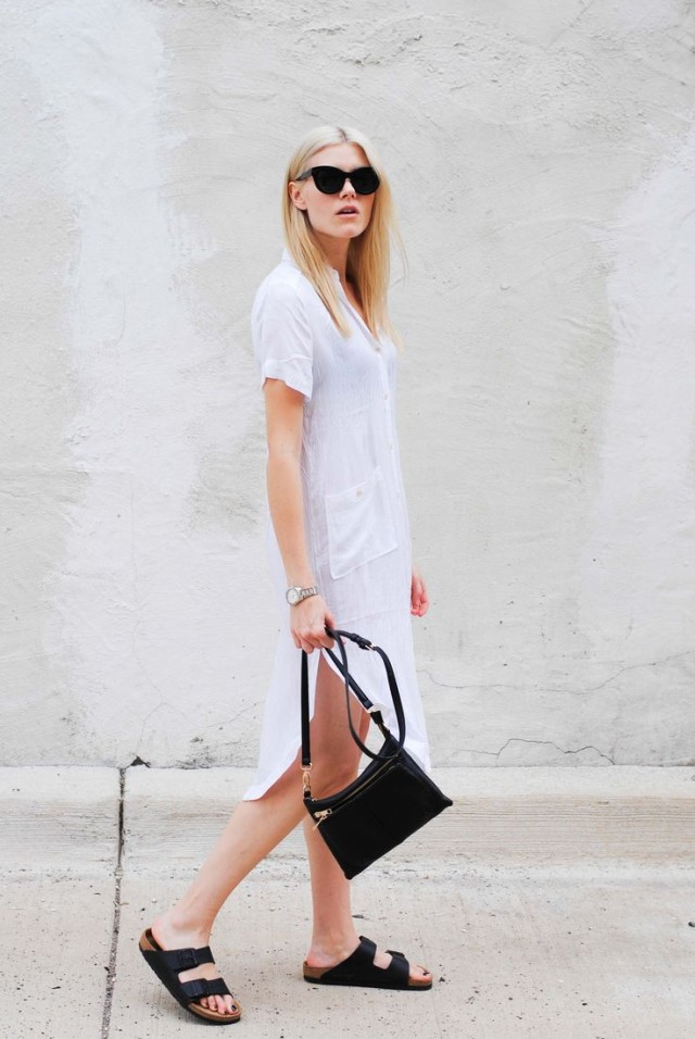 white-shirt-dress-birks-black-and-white-lwd-via-