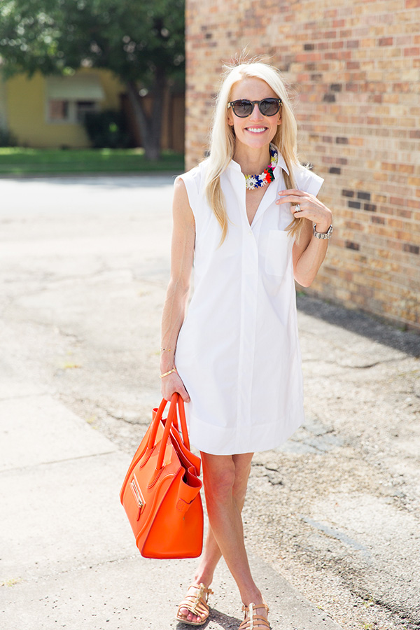 white-shirt, summer work outfits