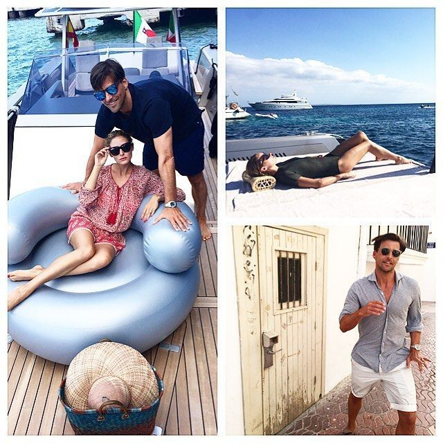 olivia palermo, yacht, sundress, boat, summer vacation, jetsetter style, vacation outfit, boat, sailing, cover up, coverup