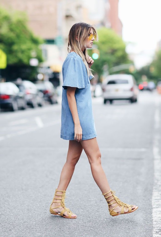 denim-shirt-dress-via-gladiator-sandals-fringe-via-www