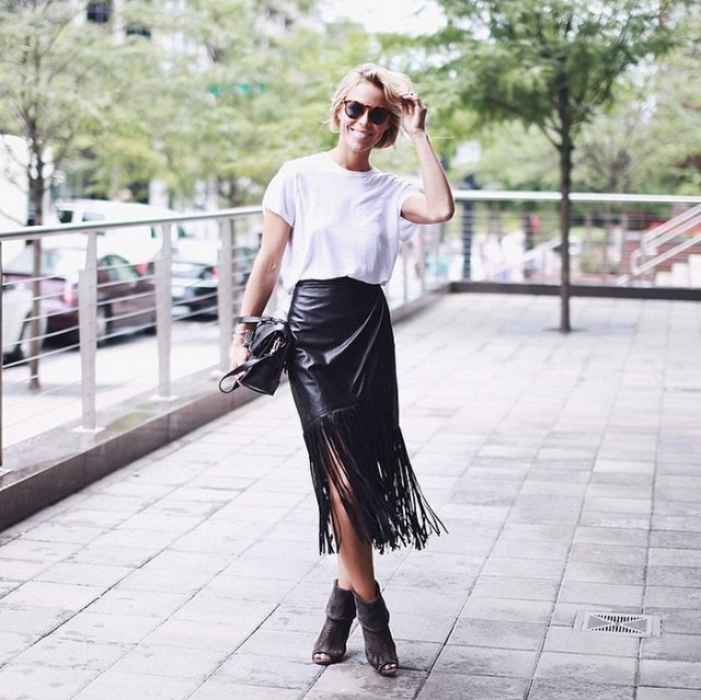 fringe-leather-midi-skirt-white-tee-summer-booties-black-and-white-via-happilygrey-instagram