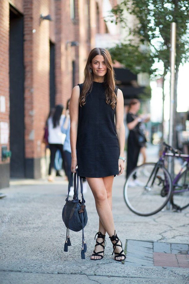 how to wear an lbd this summer, amanda weiner