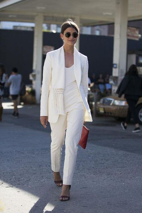 02c72ece88f Everyone s Wearing  White Pant Suits – Closetful of Clothes