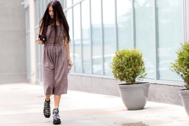 culottes-overalls cropped overalls-via the styleograph