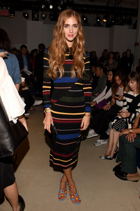 striped dress, fall colors, fall colorblocking, sweater dress, midi dress, fall colors colorblocking nyfw