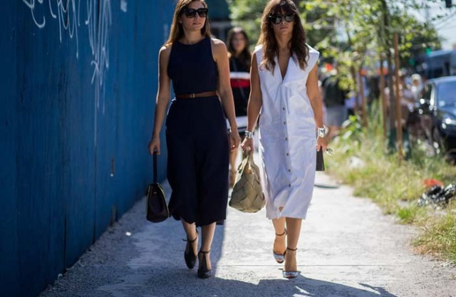 nyfw fall fashion, stree style fall work outfits