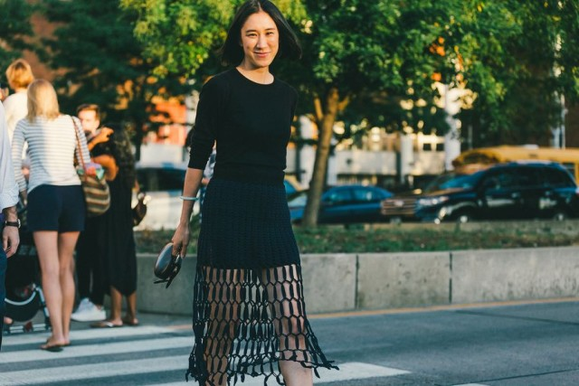 nyfw-eva-cheng-sheer crochet skirt-all blackvia-racked