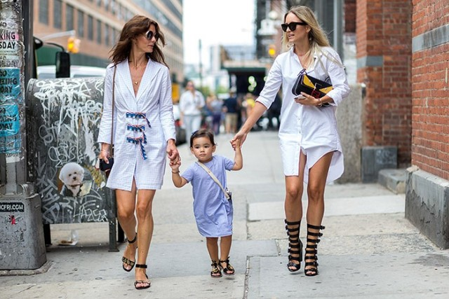 nyfw-fall outfits-transitional dressing-shirtdress-nyfw-via-the styleograph