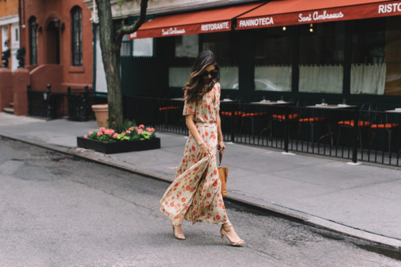spring summer wedding-this time tomorrow-floral maxi dress-nude heels