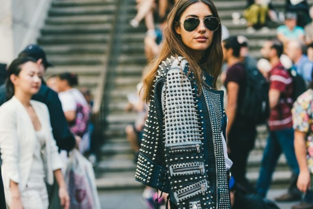 studded leather moto jacket-nyfw-fall outfits-via-racked