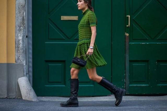 what to wear to holiday parties, green dress