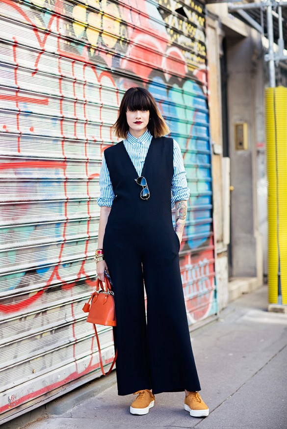 fall jumpsuit daytime evening to day dresssing night to day style devil