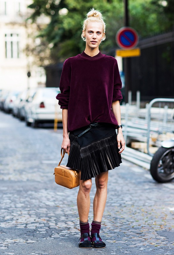 what to wear to holiday parties, velvet sweater