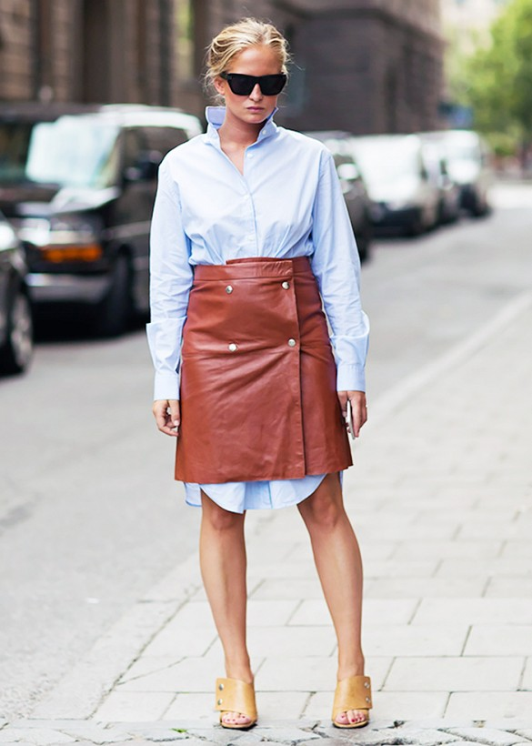 Style Hack: Wrap a Skirt Around a Dress | Closetful of Clothes