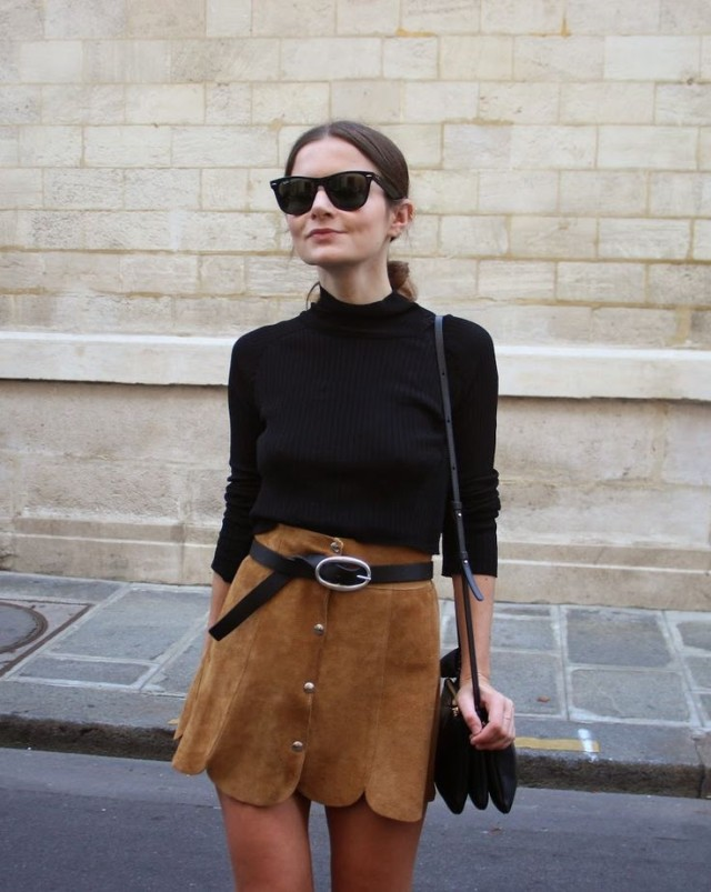 how to wear brown and black -ww