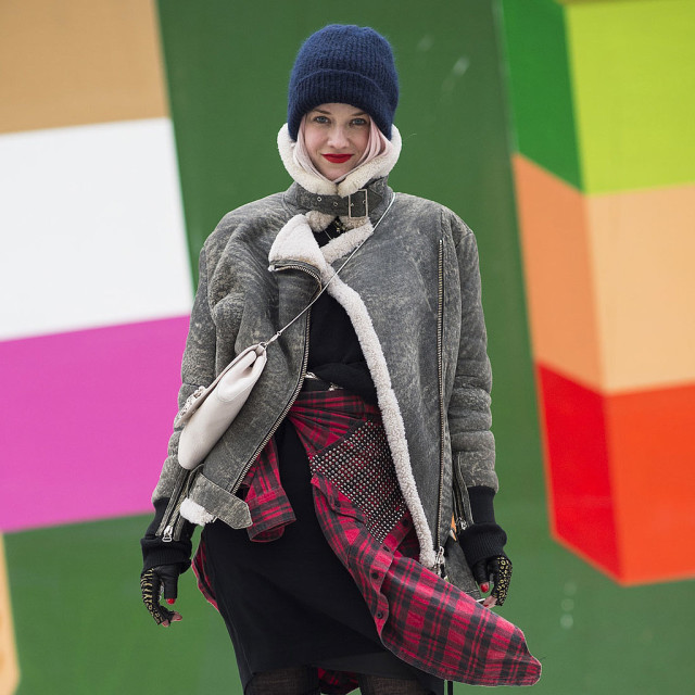 what to wear when it's freezing out