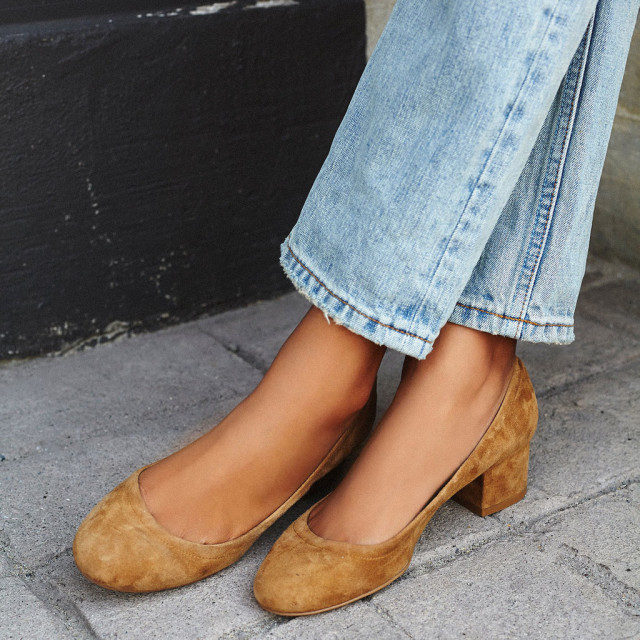 block heel, shoes, how to style, how to wear