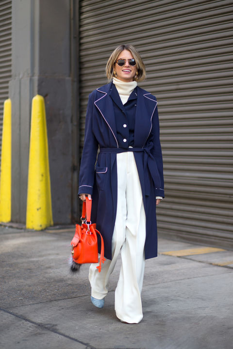 what to wear to work this week, winter work outfits, turtleneck, winter whites, white and navy