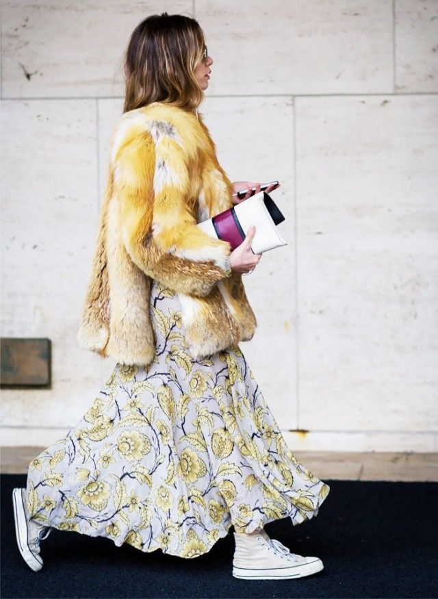 how to wear maxi dresses in winter