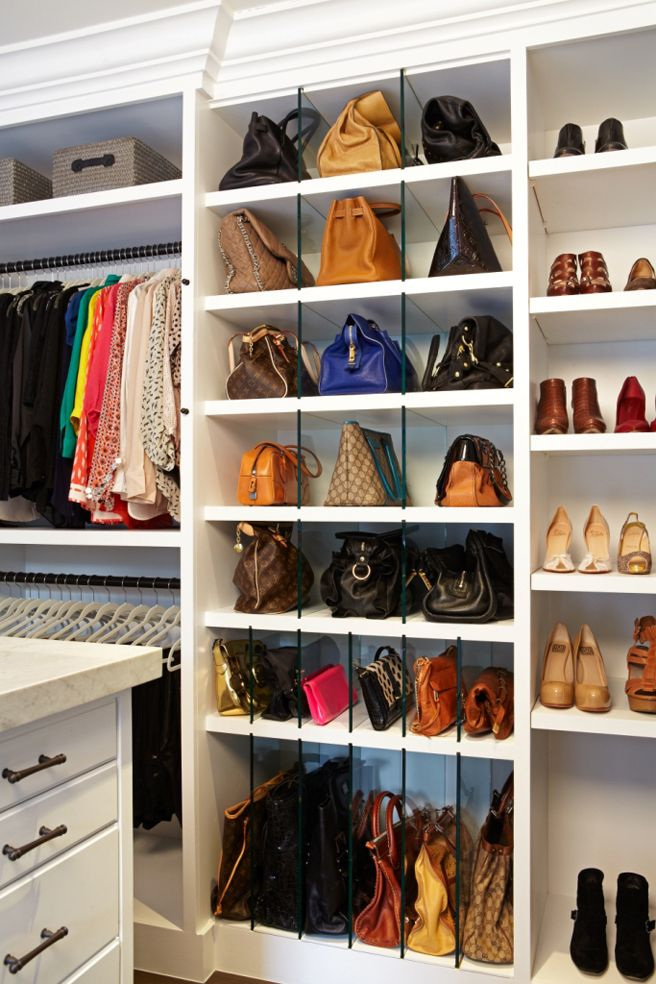 010903b05527 How to Organize Your Purses - Closetful of Clothes
