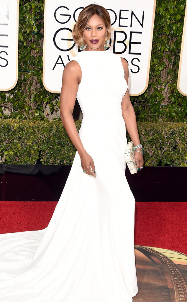 golden globes 2016 red carpet fashion Laverne-Cox--Golden-Globe-Awards