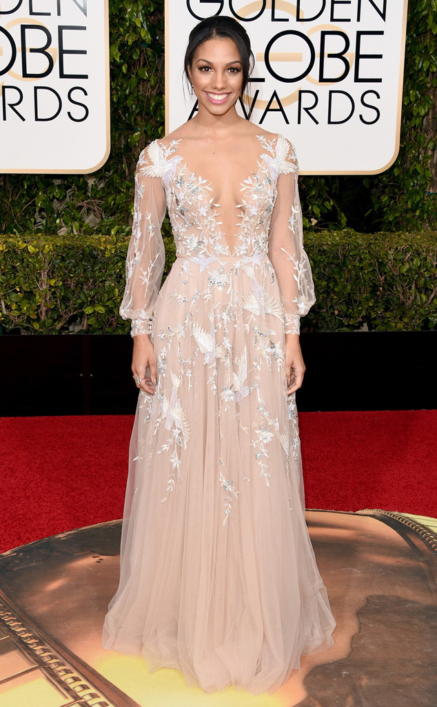 golden globes 2016 red carpet fashion corinne-foxx.cm.11016