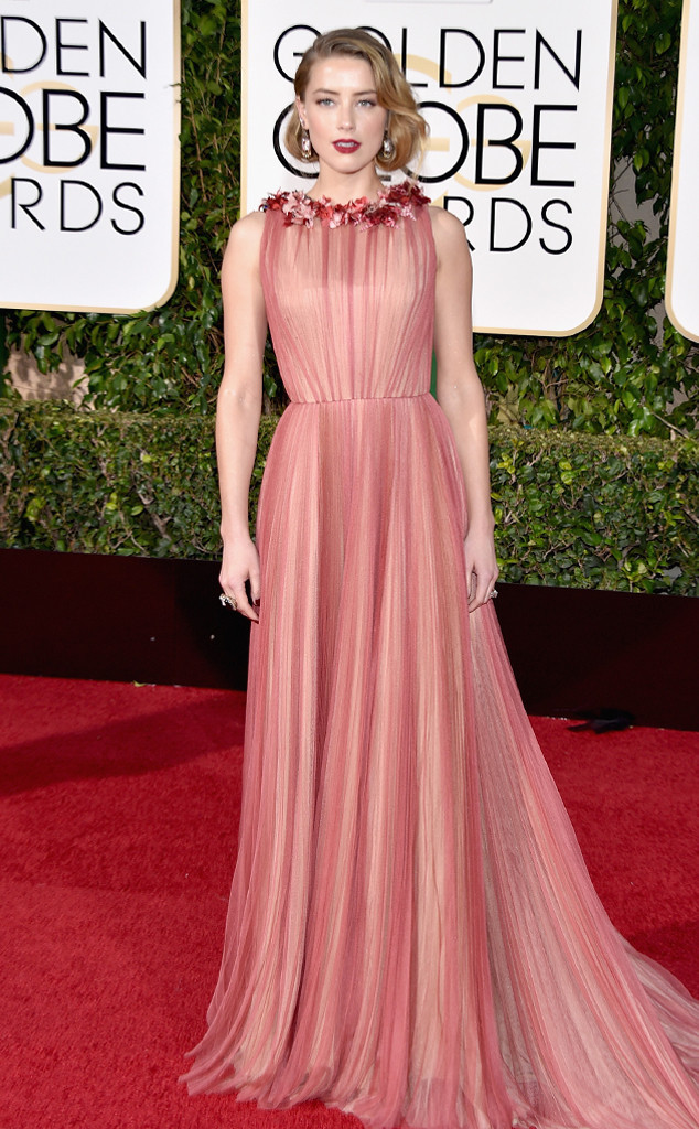 golden globes 2016 red carpet fashion Amber-Heard-Golden-Globe-Awards