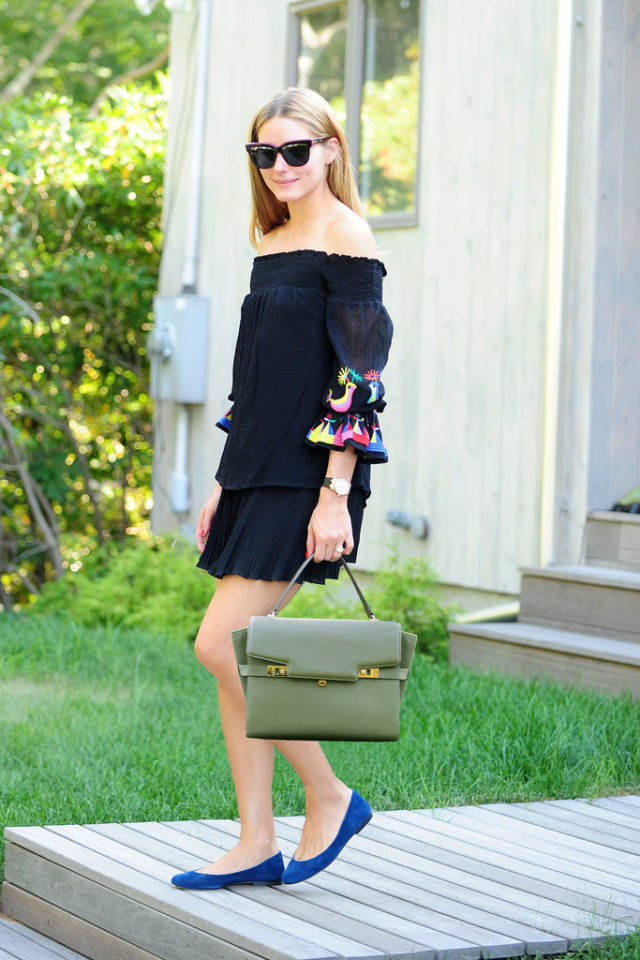 vacation outfit-off the shoulder dress-jetsetter style-olivia palermo-mexico-travel style-www