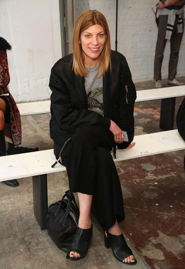 nyfw street style, nyfw fall/winter 2016, new york fashion week, winter to spring dressing, winter outfits, what to wear when it's freezing, layering, layers, Vogue Magazine Fashion Market/Accessories Director, Virginia Smith amules, graphic tee