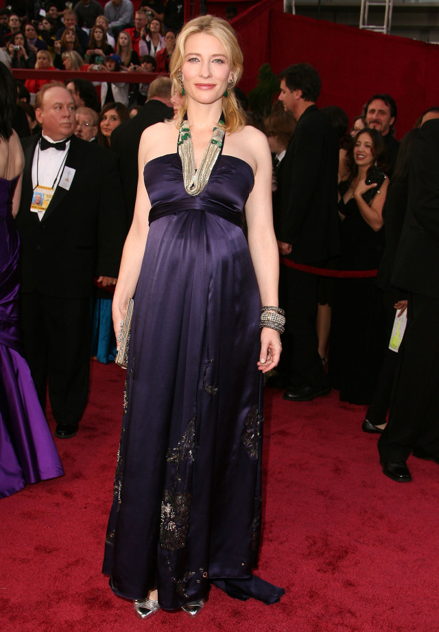 Actress Cate Blanchett attends the 80th Annual Academy Awards at the Kodak Theatre on February 24, 2008 in Los Angeles, California. (Photo by Steve Granitz/WireImage)