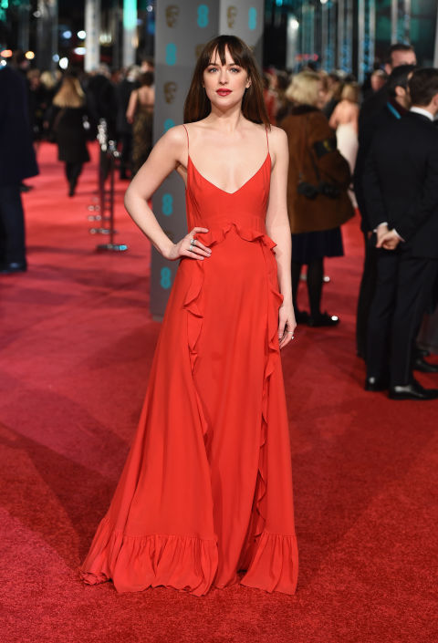 dakota johnson bafta awards