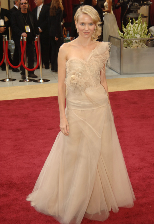 Naomi Watts during The 78th Annual Academy Awards - Red Carpet at Kodak Theatre in Hollywood, California, United States. (Photo by Jeff Kravitz/FilmMagic, Inc)