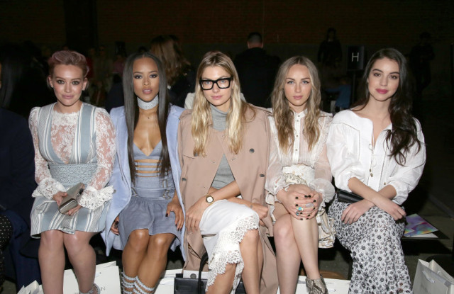 nyfw-celebs-spring work outfits-spring party-celebs at nyfw-zimmerman-elle
