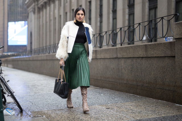 nyfw street style, coats at nyfw fall 2016