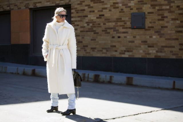 winter whites-white coat-turtlenecknyfw street style 2016
