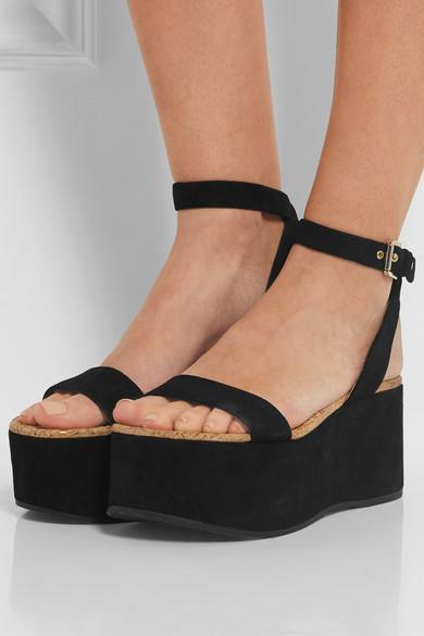 eb6d147011de Smart Buy  Sam Edelman Suede Platform Sandals – Closetful of Clothes