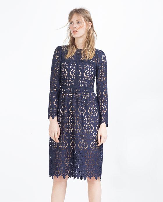 Smart Buy Zara Lace Dress Closetful Of Clothes