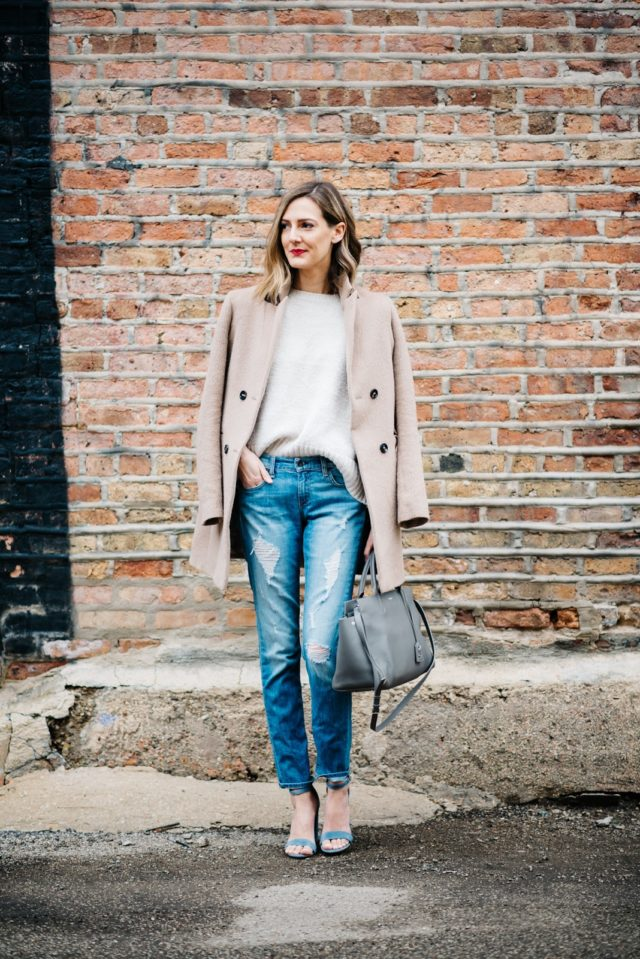 What to Wear This Weekend, Night Out Outfit, Jacket on Shoulders
