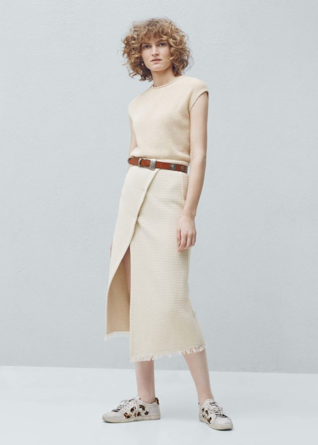 mango wrap skirt