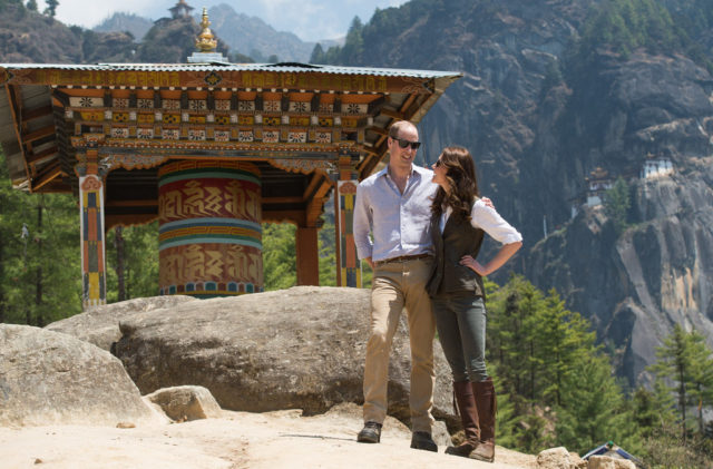 kate middleton india bhutan royal tour