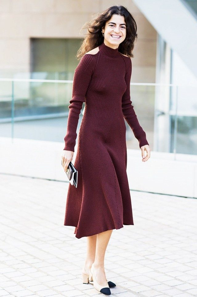 cold shoulder shirt-leandra medine-dress-spring-berry-www-