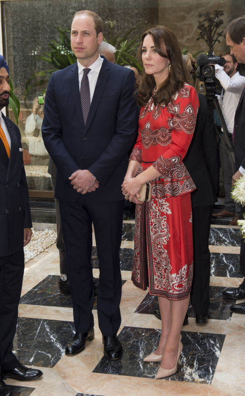 kate middleton royal india bhutan tour